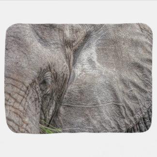 壮麗な象のベビーブランケット ベビー ブランケット