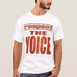 声を尊重して下さい Tシャツ