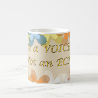 声エコーではなくがあって下さい! コーヒーマグカップ