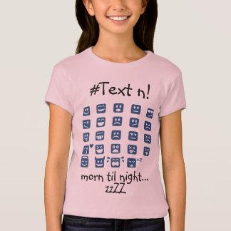 声喩のzzzZZの昼寝の時間および他の顔文字 Tシャツ
