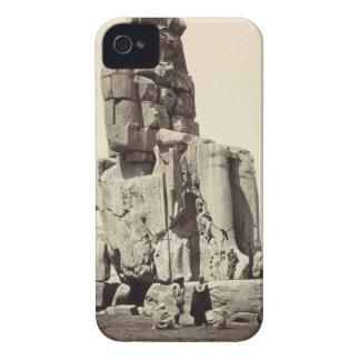 「声Memnon」、Amenhotep Iの巨大な彫像 Case-Mate iPhone 4 ケース