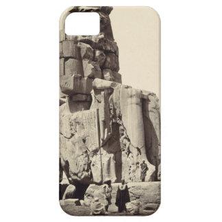 「声Memnon」、Amenhotep Iの巨大な彫像 iPhone 5 Cover