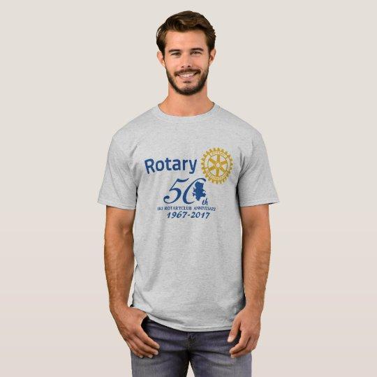 壱岐ロータリー50周年記念ロゴTシャツ Tシャツ