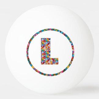 売出価格のアルファベットの芸術のアルファ3*ピンポン球 ピンポン球