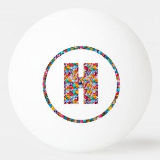 売出価格のアルファベットの芸術HHH H HH 3*のピンポン球 卓球 ボール