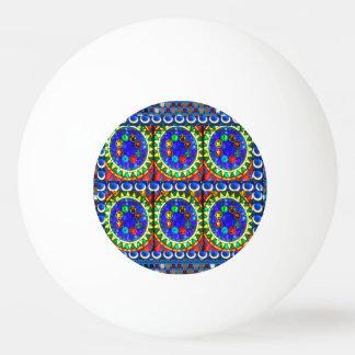 売出価格のGoodluckの抽象的な宇宙チャクラの曼荼羅 卓球ボール
