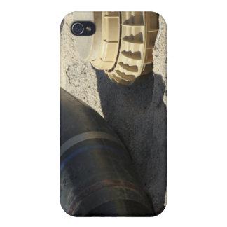 変えられた兵器の貝の静的な表示 iPhone 4/4S COVER