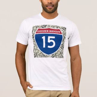 変わり者の強盗15 Tシャツ