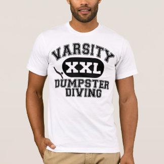 変化のダンプスターのダイビング Tシャツ