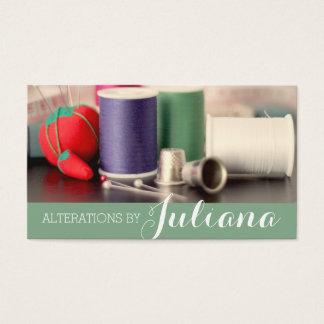 変化、テーラー、テーラー、裁縫婦 名刺