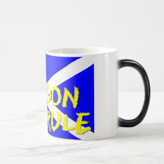 変形させるコーヒー・マグ マジックマグカップ