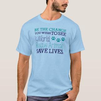 変更があって下さい Tシャツ