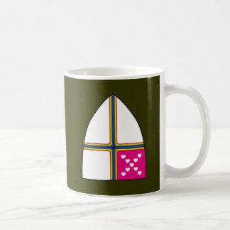 変更された主教盾 コーヒーマグカップ
