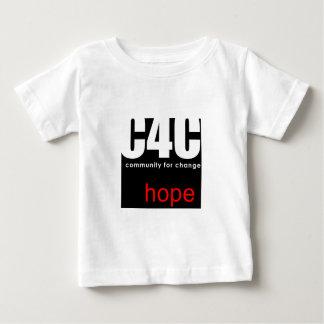 変更のためのコミュニティ ベビーTシャツ