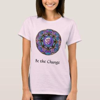 変更の~の月の曼荼羅はなります Tシャツ