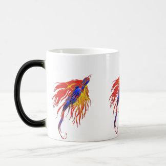 変更のcolerの変更のマグの鳥 モーフィングマグカップ
