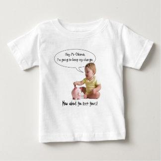 変更を保っているベビー ベビーTシャツ