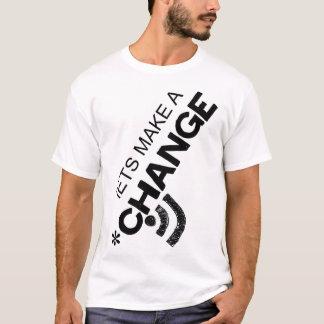 変更を行なうために割り当てます Tシャツ