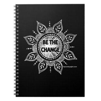 変更暗く大きいジャーナルがあって下さい ノートブック