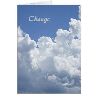 変更: やる気を起こさせるなテンプレートカード カード