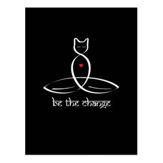 変更- Sanskritスタイルのテキスト--があって下さい 葉書き