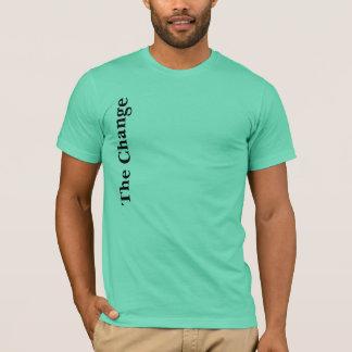 変更 Tシャツ