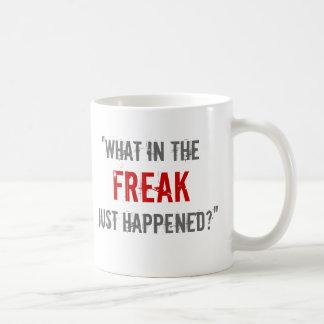 """""""変種の何がちょうど起こりましたか。"""" コーヒーマグカップ"""