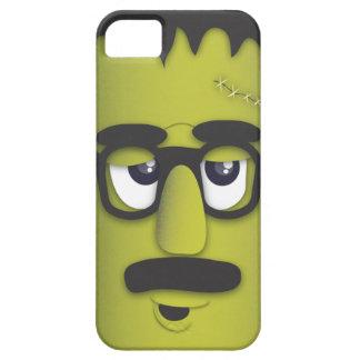 変装のおもしろいな髭のフランケンシュタインモンスター iPhone SE/5/5s ケース