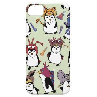 変装のパーティのペンギン iPhone SE/5/5s ケース