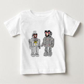 変装のロボット ベビーTシャツ