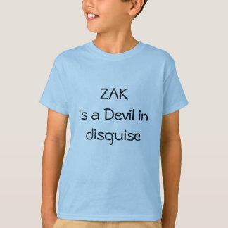 変装の悪魔 Tシャツ