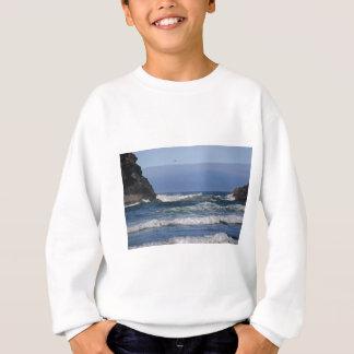 夏のオレゴンの海岸 スウェットシャツ