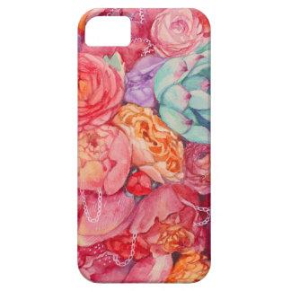 夏のカラフルの花束 iPhone SE/5/5s ケース