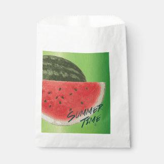 夏のタイムのスイカ フェイバーバッグ