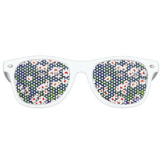 夏のデイジーのサングラス レトロサングラス