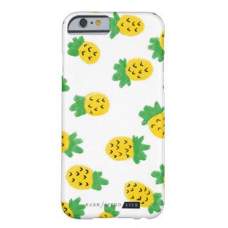 夏のパイナップル電話箱 BARELY THERE iPhone 6 ケース