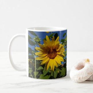 夏のヒマワリのマグ コーヒーマグカップ