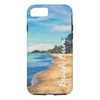 夏のビーチののらくら者の海のiPhone 7の場合 iPhone 8/7ケース