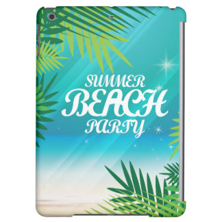 夏のビーチのパーティ