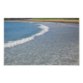 夏のビーチ場面 ポスター