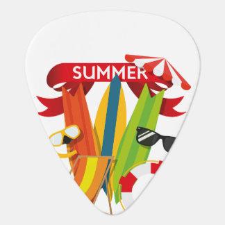 夏のビーチWatersports ギターピック
