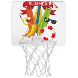 夏のビーチWatersports ミニバスケットボールゴール