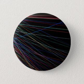 夏のフェスティバルからの糸ライン 5.7CM 丸型バッジ