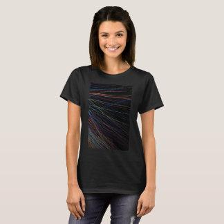 夏のフェスティバルからの糸ライン Tシャツ