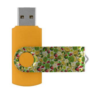 夏のフルーツ水分が多いパターンUSBのフラッシュドライブ USBフラッシュドライブ