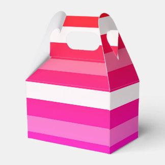 夏のプリントの好意箱 フェイバーボックス