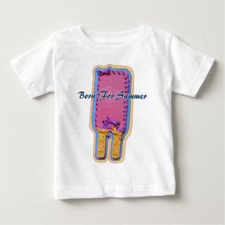 夏のベビーのワイシャツのために生まれて下さい ベビーTシャツ