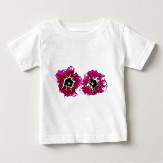 夏のペチュニア ベビーTシャツ
