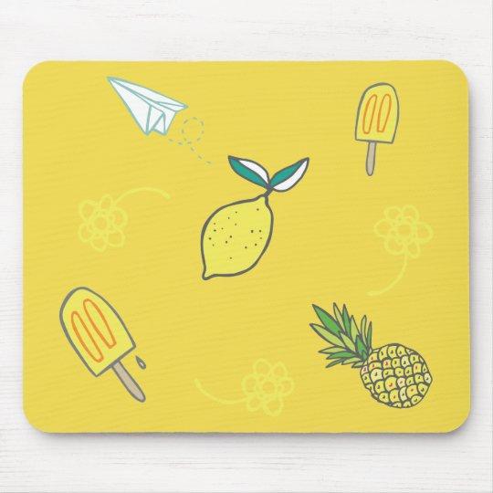 夏のレモン味の長所 マウスパッド