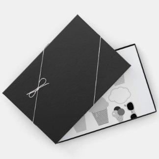 夏のヴィンテージのデザインのゲストブック ゲストブック